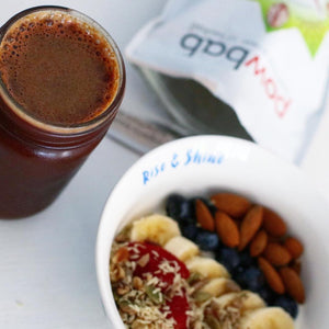 Beet Juice + Baobab Breakfast Bowl