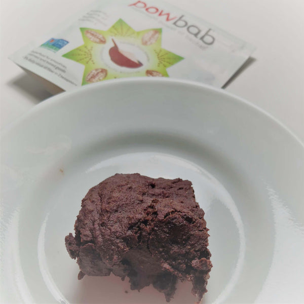 Vegan Fudgy Baobab Brownies