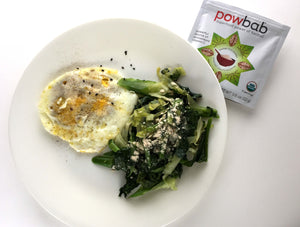 Egg & Vegetables with Baobab