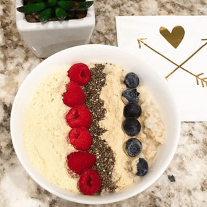 Baobab Protein Oatmeal with Blueberries