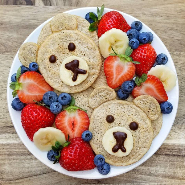 Image result for teddy bear pancakes