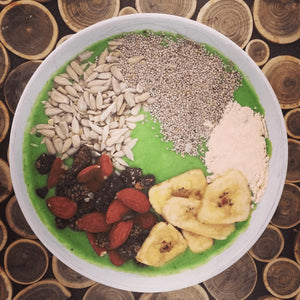 Baobab Spinach Seed Smoothie