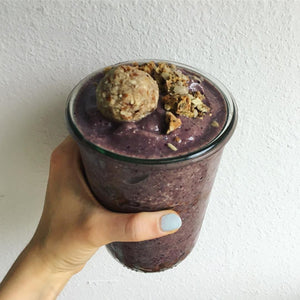 Nutty Ball Baobab Smoothie