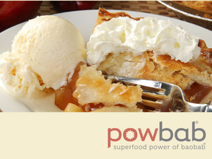 powbab® Baobab Apple Pie