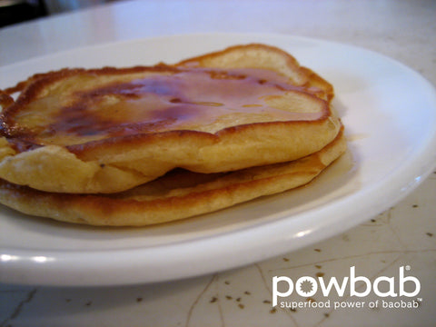 powbab® Pancake Recipe with Baobab