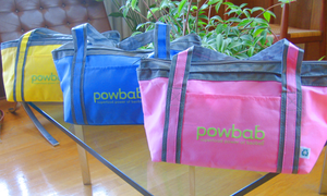 powbab® small cooler tote in 3 colors