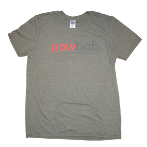 powbab® tshirt - military gray