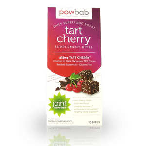 powbab tart cherry supplement bites
