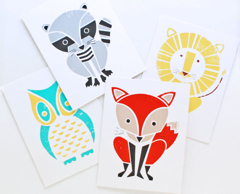 Modern Animals Boxed Card Set
