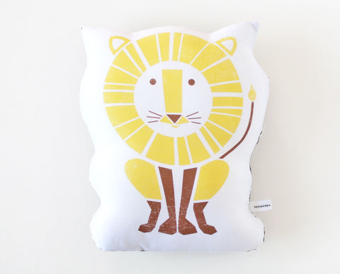 Lion Organic Cotton Sateen Pillow