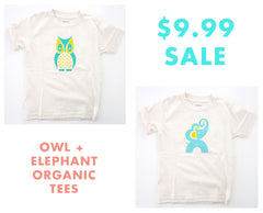 Animal Kid's Tees Organic Cotton