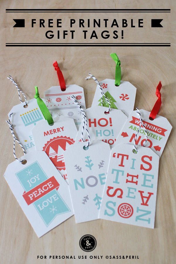 24 Christmas Tags Amp Games Free Printables The Crafted