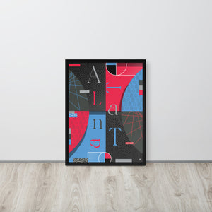 Women - Atlanta Framed Poster