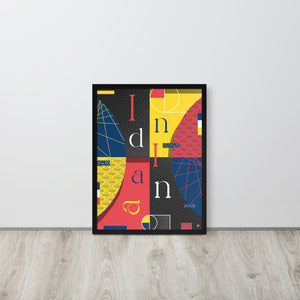 Women - Indiana Framed Poster