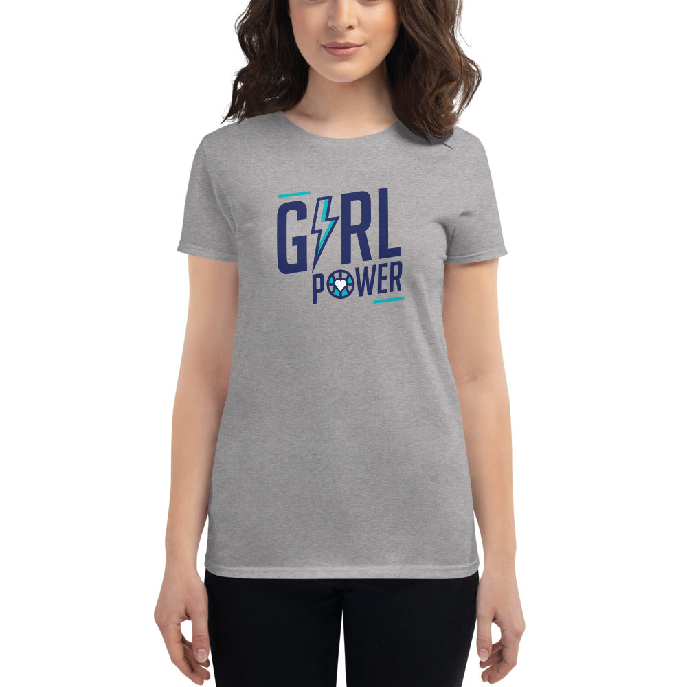 Girl PWR - Women's short sleeve t-shirt