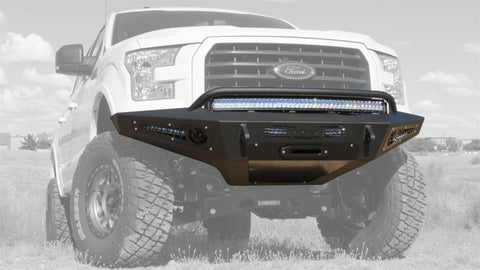 Addictive Desert Designs 15-17 Ford F-150 HoneyBadger Front Bumper w/ Winch Mount