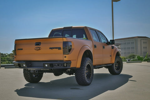 Addictive Desert Designs 10-14 Ford F-150 Raptor Dimple R Rear Bumper
