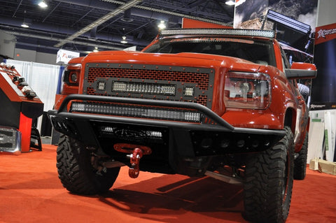 Addictive Desert Designs 14-15 GMC Sierra 1500 Stealth Front Bumper w/ Winch Mount