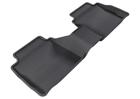 3D MAXpider 2013-2020 Ford/Lincoln Fusion/MKZ Kagu 2nd Row Floormats - Black
