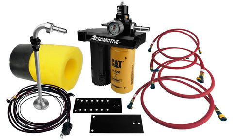 Aeromotive Fuel Pump - 08-10 Ford Powerstroke Complete Kit