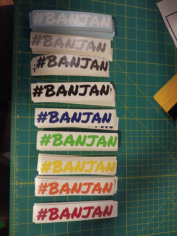 #BanJan decal