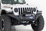 Addictive Desert Designs 2020 Jeep Gladiator JT Stealth Fighter Front Bump w/ Top Hoop & Winch Mount