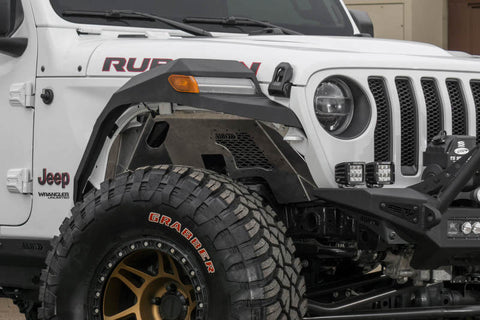 Addictive Desert Designs 2018 Jeep Wrangler JL Hammer Black Rock Fighter Front Fenders