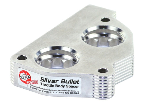 aFe Silver Bullet Throttle Body Spacers TBS GM C/K 1500/2500/3500 87-95 V6-4.3L V8-5.0/5.7L