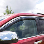 AVS 03-08 Honda Pilot Ventvisor In-Channel Front & Rear Window Deflectors 4pc - Smoke