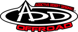 Addictive Desert Designs 2015+ Ford F-150 Overlander Chase Rack w/ 3rd Brake Light - Hammer Black