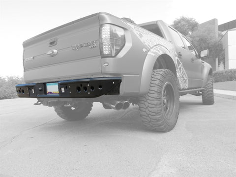 Addictive Desert Designs 10-14 Ford F-150 Raptor Venom Rear Bumper w/ Backup Sensor Cutouts