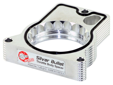 aFe Silver Bullet Throttle Body Spacers TBS GM C/K 1500/2500/3500 96-00 V8-5.0L 5.7L