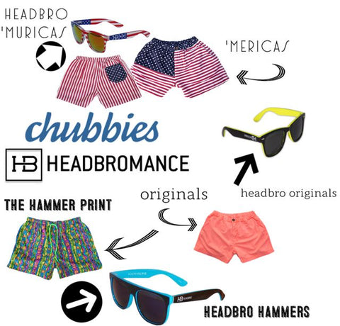 Chubbies + HB - A Bromance in the Making..
