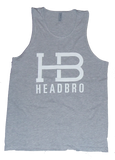 HeadBro Stamp Tank - Heather Grey