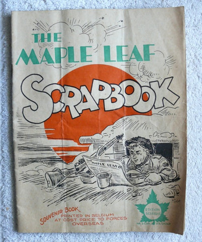 Maple Leaf Scrap Book