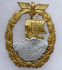 Naval Auxiliary Cruiser Badge