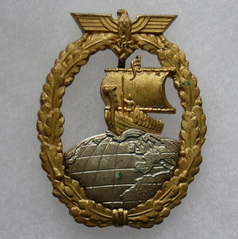 Naval Auxilliary Cruiser Badge