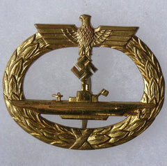 Naval U-Boat Badge