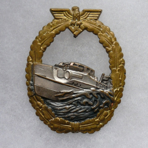 Naval E-Boat Badge