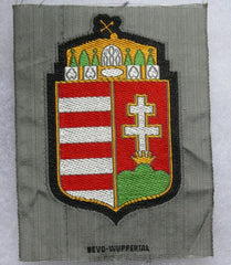 Hungarian Volunteer's patch