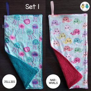 Burp Cloths (2 pack)