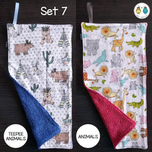 Load image into Gallery viewer, Burp Cloths (2 pack)