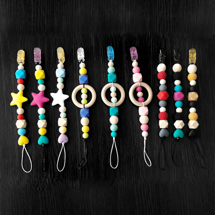 Beaded Dummy Clips