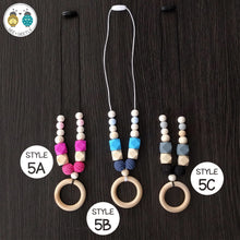 Load image into Gallery viewer, Beaded Teether Necklaces (for Mama)