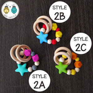 Beaded Teether Rings