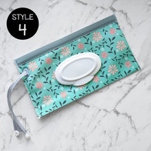 Load image into Gallery viewer, Reusable Wet Wipes Pouch