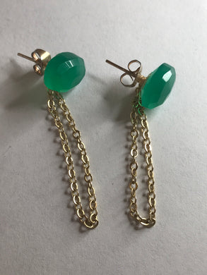 """OZ"" Earrings"