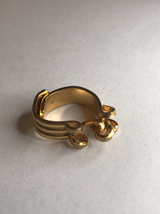Gold Toe Ring