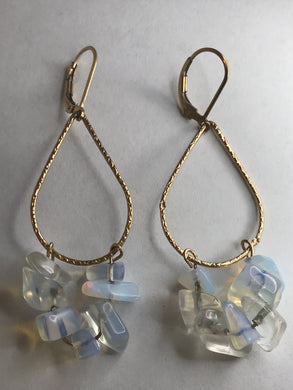 Opal Artemis Earrings