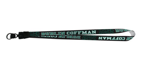 Dublin Coffman Custom lanyards